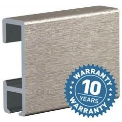 Binario alluminio mt.3