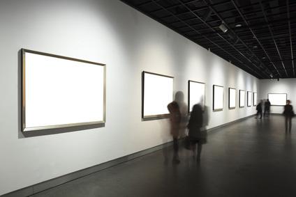 quadri esposti al museo
